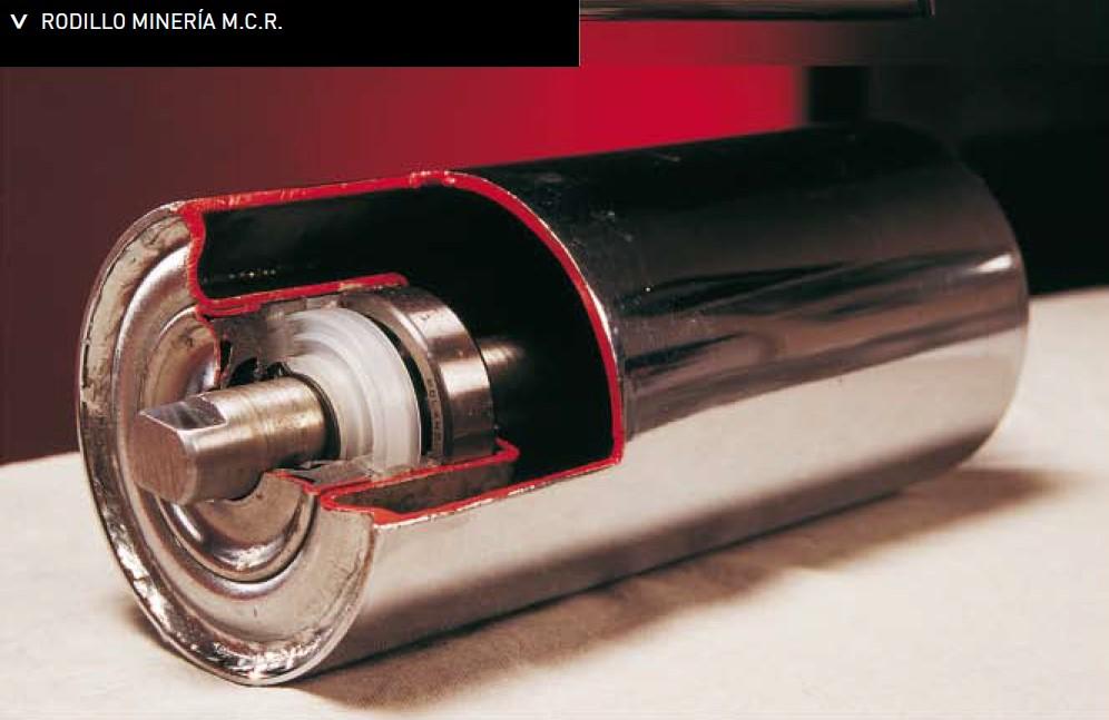 Rodillos industriales MCR. Catálogo General